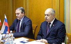ВСовете Федерации состоялась встреча сПослом Исламской Республики Иран вРоссийской Федерации М.Санаи