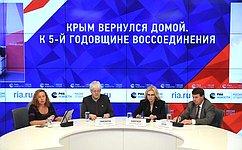 О. Тимофеева: Запрошедшие пять лет Севастополь иКрым многое преодолели иактивно развиваются