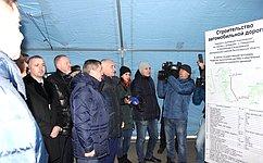 Сергей Горняков принял участие вторжественном пуске движения нановом участке трассы «Урюпинск— Дубовский— Алексеевская»
