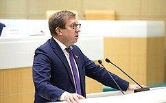А.Майоров: Мы запланировали впериод весенней сессии ряд мероприятий поосуществлению парламентского контроля