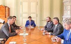 Ю.Воробьев иВ.Бондарев обсудили сшвейцарскими коллегами широкий круг тем всфере межпарламентского взаимодействия