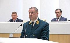 Сенаторы приняли Постановление палаты опротиводействии незаконной вырубке леса