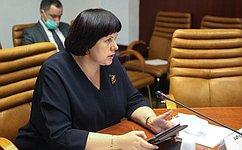 Е. Афанасьева провела Конференцию «Соблюдение прав исвобод человека игражданина вэпоху цифровизации ироботизации»