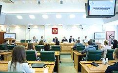 Молодые предприниматели иполитики изроссийских регионов обсудили ссенаторами актуальные вопросы поддержки иразвития малого исреднего бизнеса