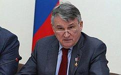 Ю. Воробьев возглавит российскую часть российско-армянской Межпарламентской комиссии посотрудничеству