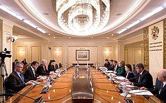 В.Матвиенко: Россия заинтересована врасширении многопланового сотрудничества сБоснией иГерцеговиной