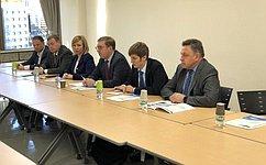 Делегация Совета Федерации находится вЯпонии