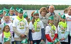 Сенаторы приняли участие вмероприятиях «Регаты Эколят» вЯрославской области