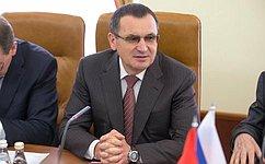 Н.Федоров обсудил сЭ.Нагдалян межпарламентское сотрудничество России иАрмении