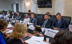 Совершенствование законодательства всфере предупреждения семейного насилия обсудили вСовете Федерации
