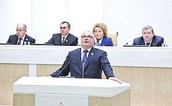 А. Клишас: Профильный Комитет СФ будет рекомендовать палате одобрить поправки взакон оСМИ