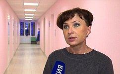 Т.Кусайко посетила медицинские учреждения детского профиля города Севастополя