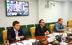 Н. Федоров иИ. Яровая провели заседание Президиума Совета законодателей Российской Федерации