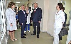В.Николаев отметил высокий уровень оказания медицинской помощи вбольницах Чувашии