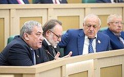 Входе «парламентской разминки» сенаторы обсудили действия профильных ведомств вусловиях стихийных бедствий