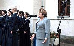 О. Хохлова: Борьба стерроризмом– наша общая задача