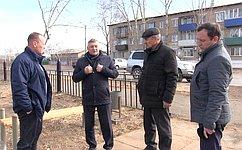 С. Михайлов осмотрел социальные объекты Борзи, нуждающиеся вреконструкции