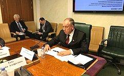С. Митин: Временная комиссия обсудила тему развития машиностроения для пищевой иперерабатывающей промышленности