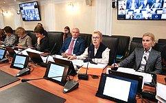 Сенаторы обсудили процесс согласования поправок вСемейный кодекс РФ, направленных нареализацию государственной функции защиты семьи иребенка