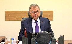 А. Артамонов: Нам предстоит большая работа вобласти финансового, бюджетного иналогового законодательства