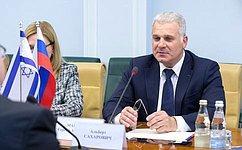 Руководитель Аппарата Совета Федерации провел встречу сосвоим коллегой изКнессета Государства Израиль