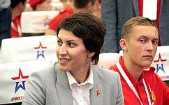 Т. Лебедева: Вроссийских регионах появляются новые отделения военно-патриотического движения «Юнармия»