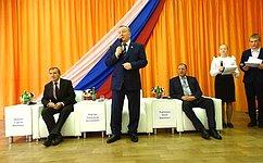 А. Карлин вручил алтайским школьникам почетные грамоты «Российского Союза спасателей»