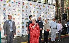 И. Тихонова дала старт проекту «Здоровье ибезопасность» вдетских оздоровительных лагерях Липецкой области