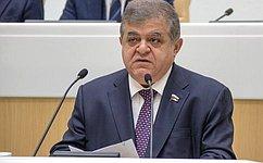 Мы обсудили ситальянскими коллегами вопросы межпарламентского взаимодействия— В.Джабаров