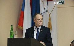 А.Башкин принял участие вработе коллегии Управления Федеральной службы исполнения наказаний поАстраханской области