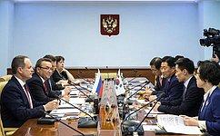 УРоссийской Федерации иРеспублики Корея сложились традиционно дружественные отношения– Р.Зинуров