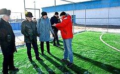 С. Михайлов: Поселок Дарасун успешно справился среализацией проекта комфортной городской среды