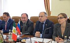 И.Умаханов: Уроссийских имексиканских парламентариев– большие возможности для расширения сотрудничества