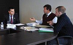 Входе приема граждан вСамарской области С.Мамедов обсудил вопросы социальной помощи идеятельности управляющих компаний