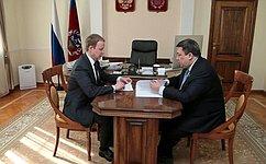В. Полетаев: Обеспечение сбалансированности бюджетов субъектов– важнейшее направление работы Совета Федерации