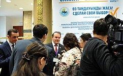 И.Морозов: Выборы вМажилис Парламента Казахстана прошли при высокой активности избирателей, открыто ипрозрачно