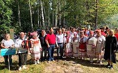 О. Мельниченко: Фестиваль «Золотарёвское городище» способствует популяризации истории Отечества