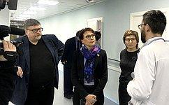 Новое паллиативное отделение Кольской больницы отвечает самым современным требованиям– Т.Кусайко