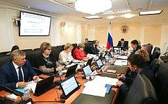 Назаседании Комитета СФ понауке, образованию икультуре рассмотрен ряд федеральных законов