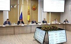 Навыездном совещании вЧувашии сенаторы обсудили реализацию программы социально-экономического развития региона