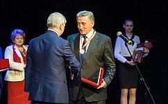 С. Лукин получил Почётный знак Воеводы Семёна Сабурова «Служение идолг»
