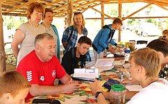 В. Николаев: «Школа дикой природы» вЧувашии– одна излучших программ экологического воспитания детей