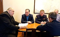 С. Аренин обсудил вСаратовской области актуальные аспекты трудовой занятости осужденных