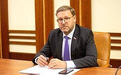 К.Косачев: Работа попродвижению русского языка зарубежом должна проводиться сучетом целевой аудитории