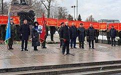 Сенаторы приняли участие вмероприятиях вДень памяти ороссиянах, исполнявших служебный долг запределами Отечества