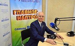 Ф. Мухаметшин: Самарская область стала лидером подинамике развития вПриволжском федеральном округе