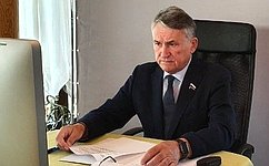 Ю. Воробьев принял участие вработе 60-й сессии Парламентского Собрания Союза Беларуси иРоссии