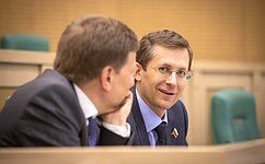 Входе 460-го заседания Совета Федерации сенаторы высказались поактуальным вопросам