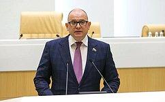 К. Долгов: Наш законопроект позволит ускорить строительство объектов инфраструктуры Арктической зоны РФ