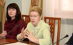 Е. Мизулина: ВОмской области будет поддерживаться добровольческое движение всфере организации поиска пропавших детей
